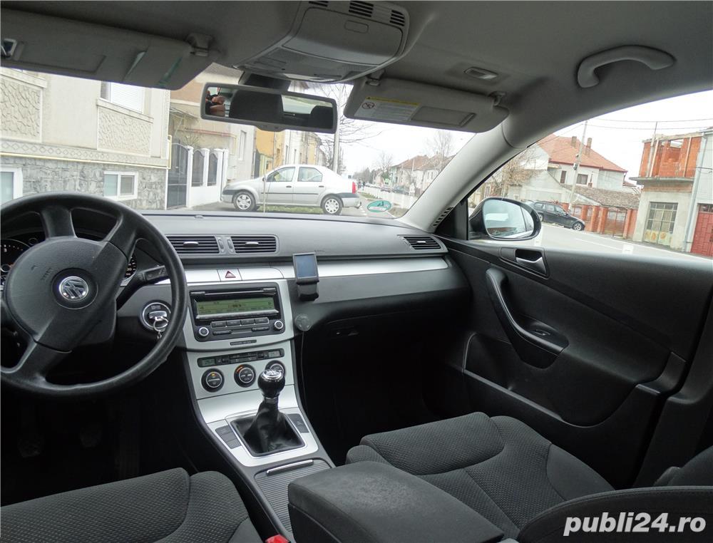 VW PASSAT Variant euro5, scaune încălzite, Tempomat, climatronic, Bluetooth