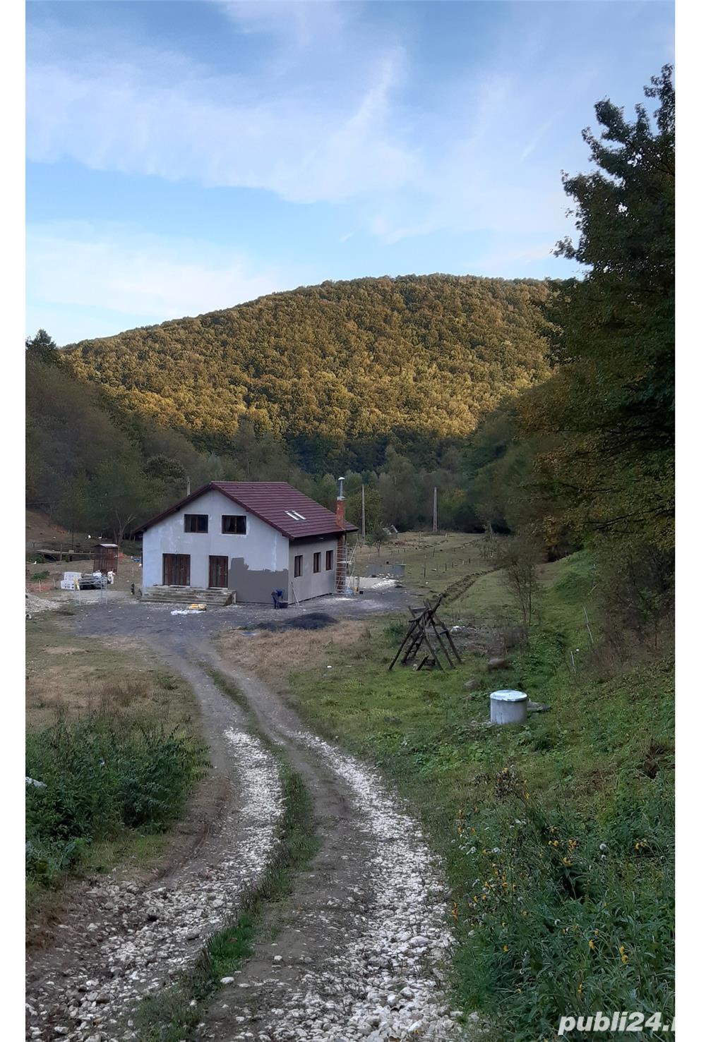 Cabană Agroturistică 6 camere P+M Suprafață 16.800mp intravilan valea Bozului