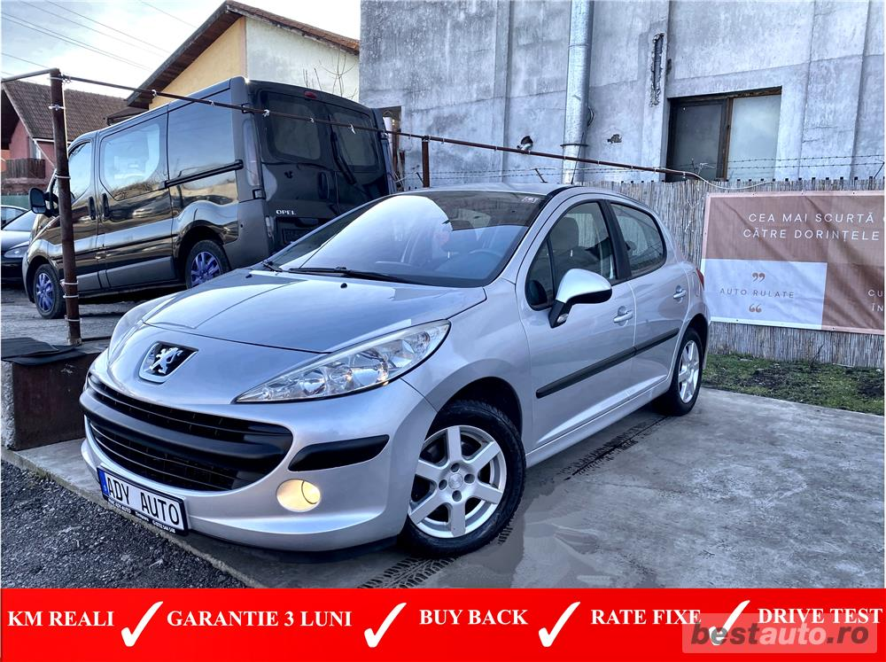 PEUGEOT 207 / 1.6 HDI / RATE FIXE SI EGALE / GARANTIE INCLUSA 3 LUNI / DRIVE TEST / BUY-BACK