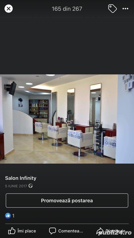 Salonul INFINITY Bacău închiriază posturi de lucru coafură și manichiură/pedichiură