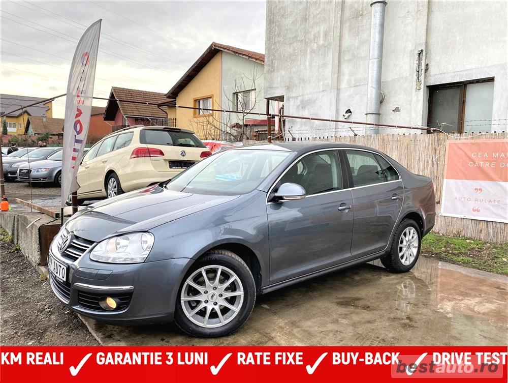 VW JETTA  1,9 TDI - RATE FIXE EGALE - GARANTIE INCLUSA - BUY BACK - NR DE PROBE - EURO 4