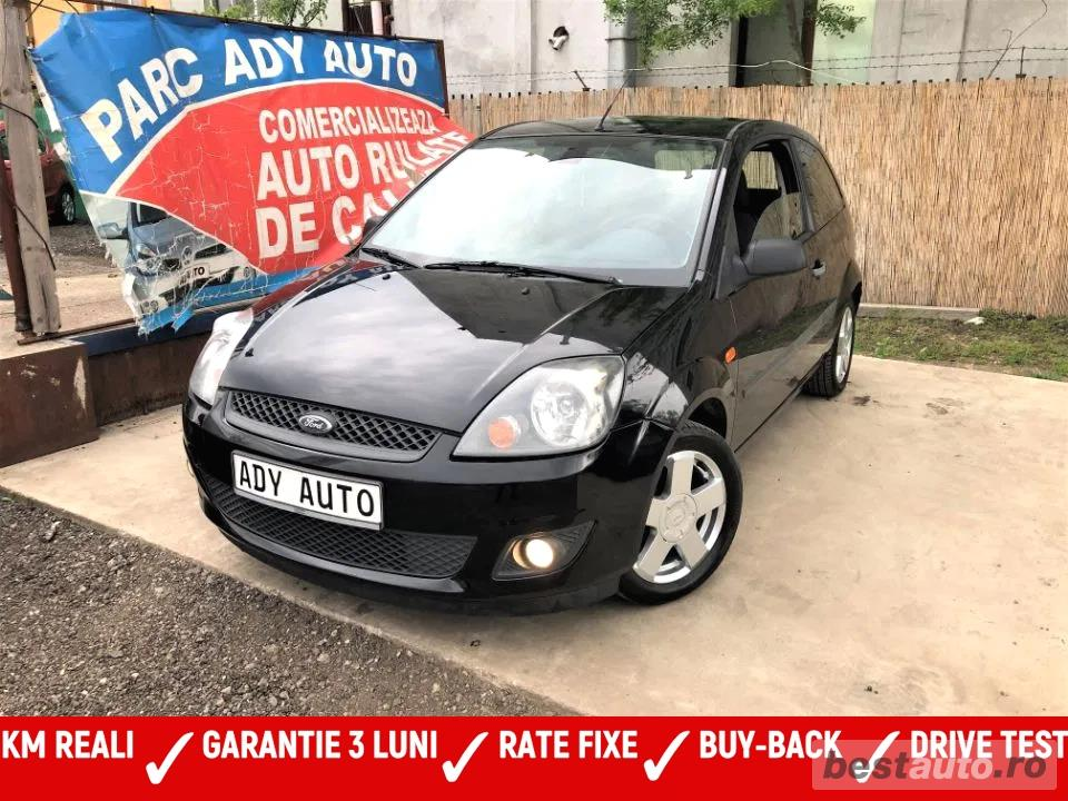 FORD FIESTA 1,3i = clima = GARANTIE INCLUSA / RATE FIXE EGALE /  BUY-BACK /