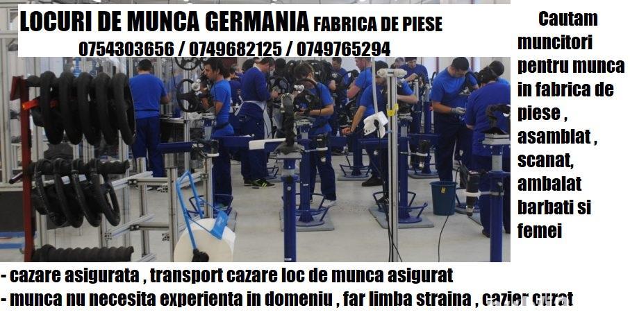 Oferte de munca in strainatate