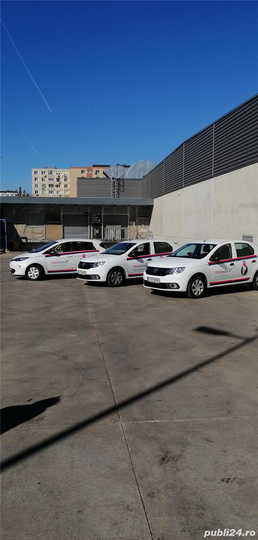 Firma noua colaboratoare Free now, uber, bolt, cautam șoferi colaboratori