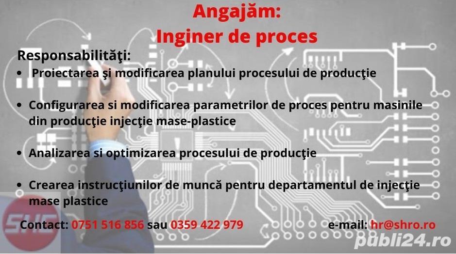 Angajam Inginer de proces
