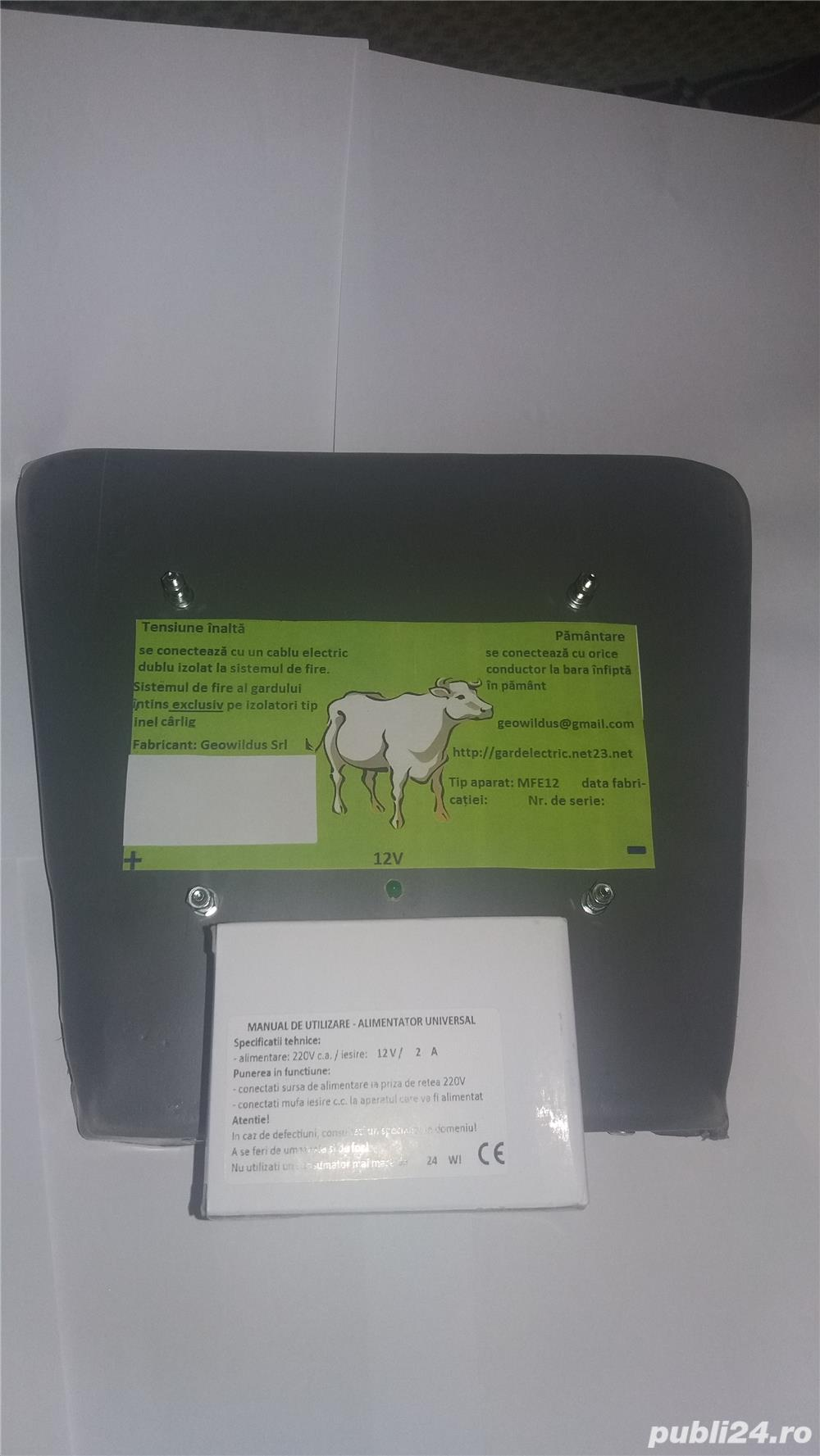Gard electric 4 joule ideal impotriva mistretilor km 350 ron