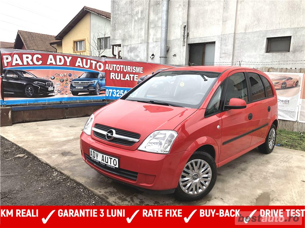 OPEL MERIVA - RATE FIXE - GARANTIE 3 LUNI- BUY-BACK - TEST-DRIVE