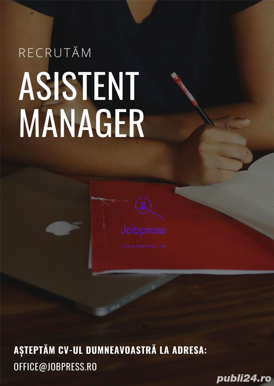 Asistent Manager în Domeniul Vânzărilor