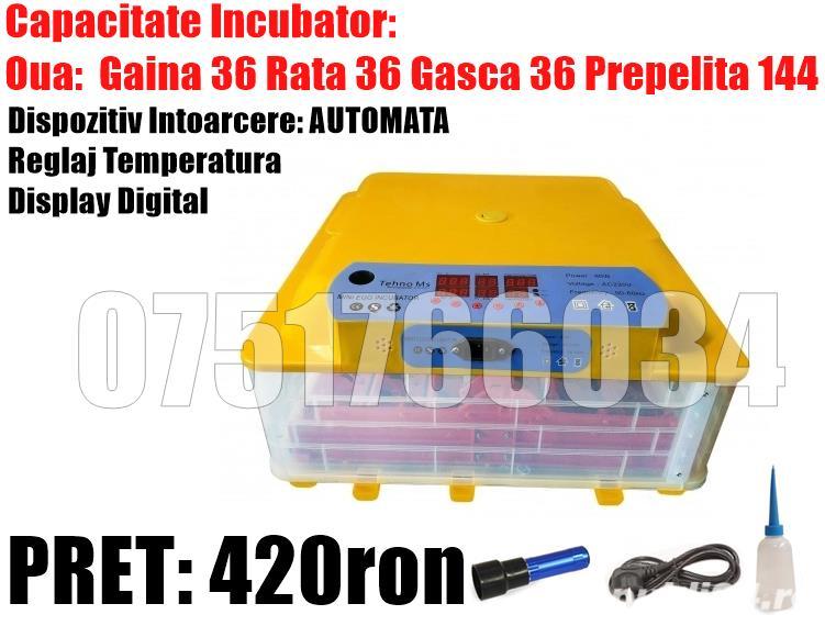Incubator Oua Automat Clocitoare Oua Intoarcere Automata Gaina Gasca Prepelita Temperatura Umiditate