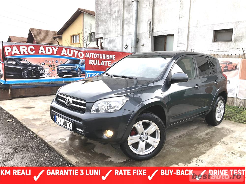 TOYOTA RAV 4 / 4X4 / RATE FIXE - GARANTIE INCLUSA / BUY-BACK / DRIVE TEST