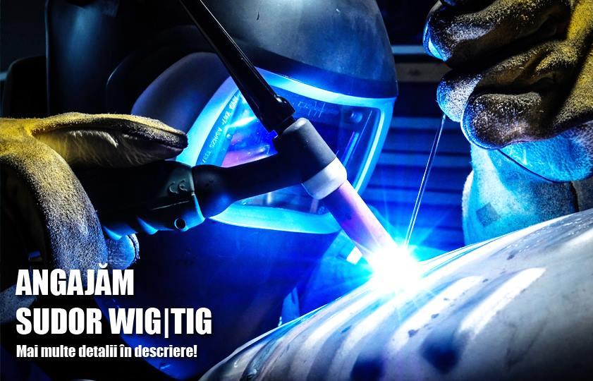 Angajam Sudor WIG/TIG