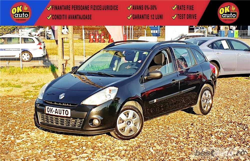 RENAULT CLIO Grandtour - GARANTIE 12 LUNI - EURO 5 - 2011 - 1.5 DIESEL - vanzare RATE FIXE avans 0%.