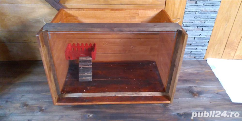 Cusca de interior pentru rozatoare, reptile sau animale mici