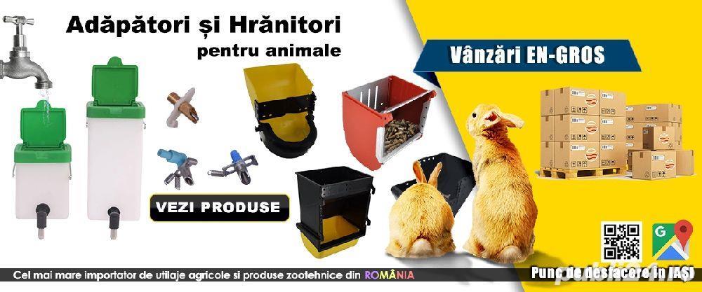 Adăpători și hrănitori animale
