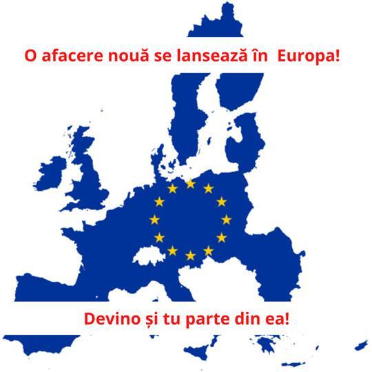✅ O afacere nouă se lansează în Europa! ✅ Devino și tu parte al acestei revoluții!.