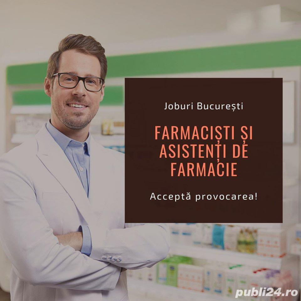 Job Farmacisti – Asistenti Farmacie Bucuresti