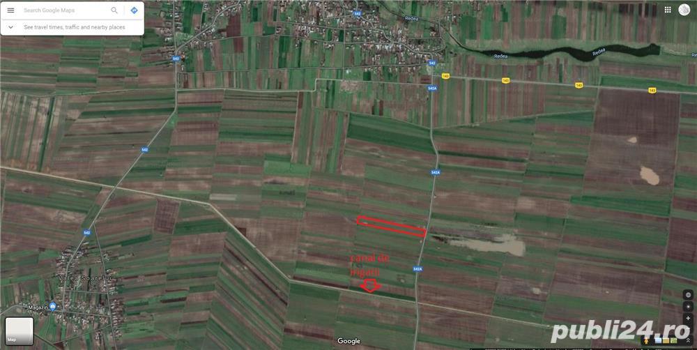 Teren agricol (extravilan) 3.35/ha, Redea, Olt