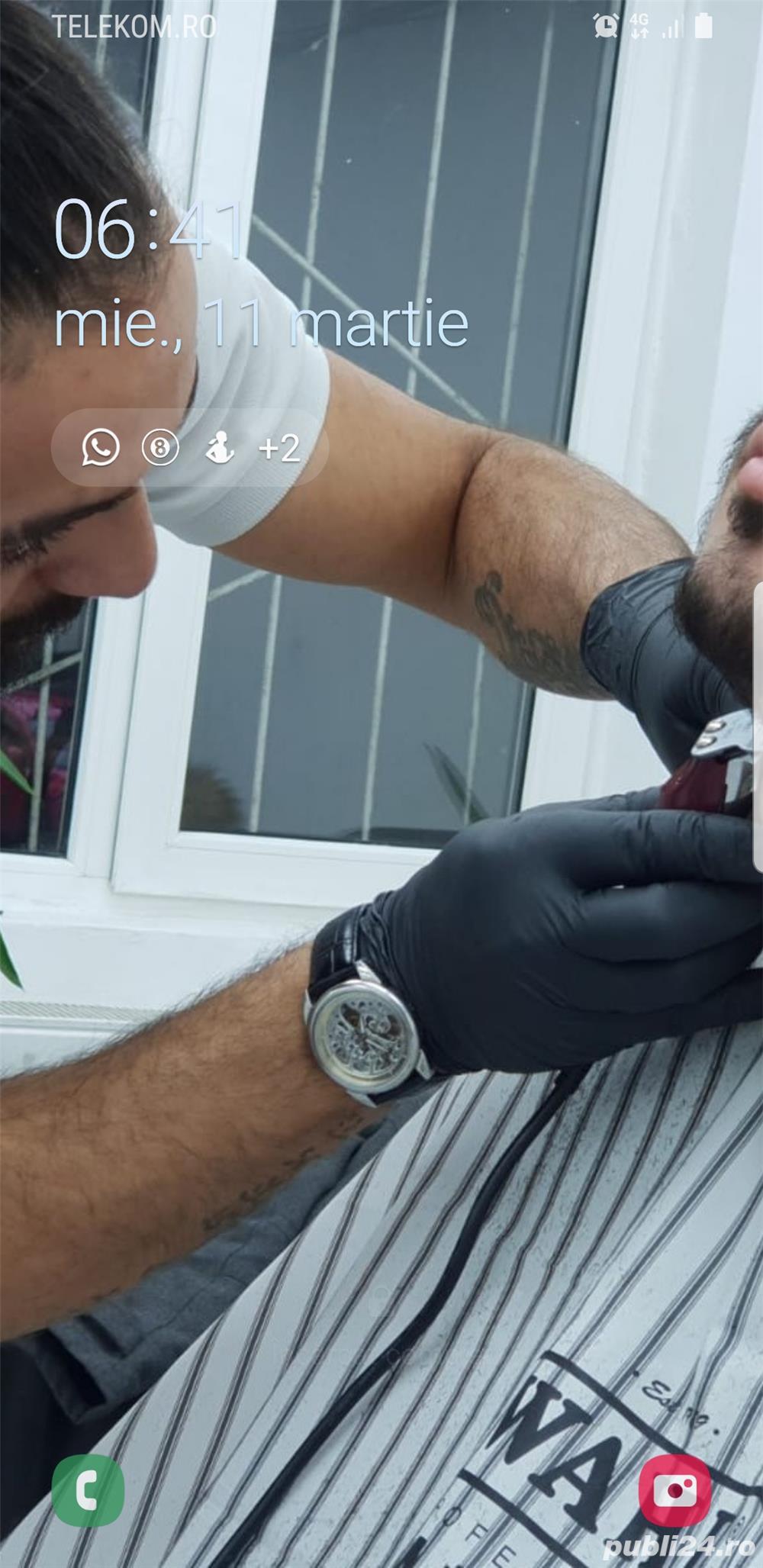 Frizer profesionist tund la domiciliul clientulu 70-100 lei