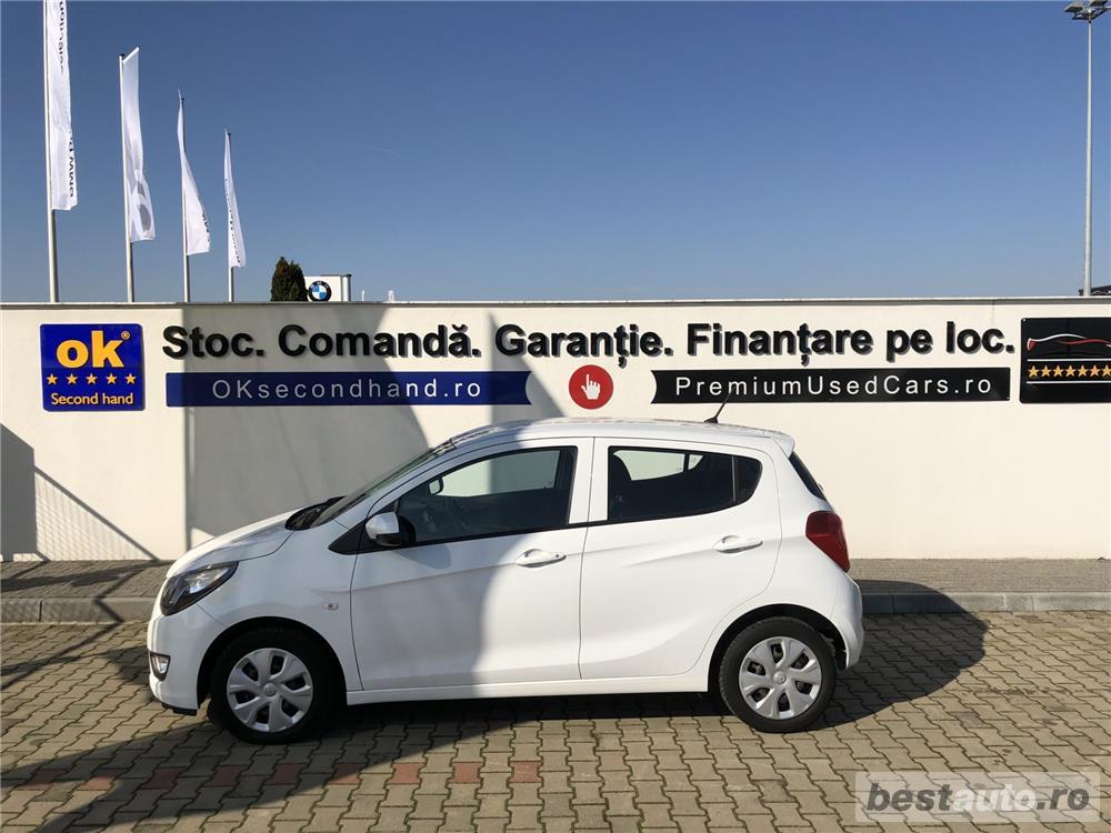 Opel Karl   1.0i   Benzina + GPL   AC   Geamuri Electrice   Computer de bord   Bluetooth   2017.