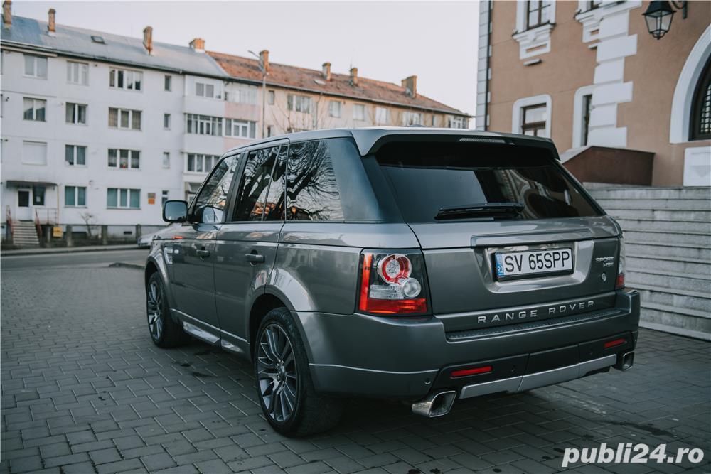 Range Rover Sport Autobiograpy facelift 3.0D biturbo euro 5