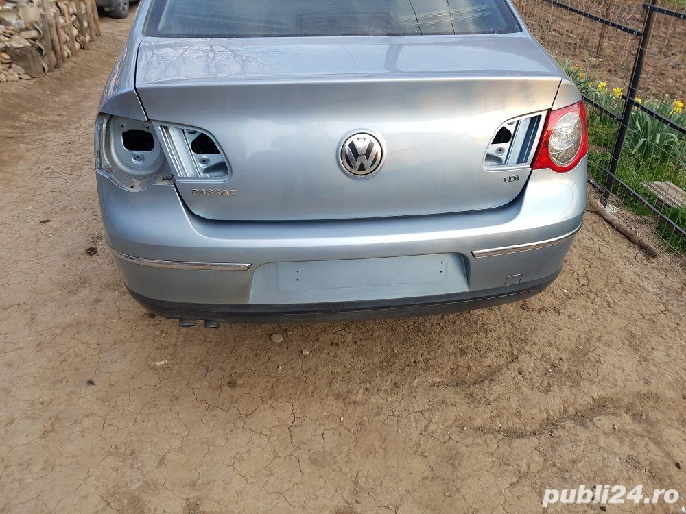 Capota portbagaj / haion / hayon  VW Passat B6 / 3C berlina/ sedan/ limuzina culoare gri LB5M