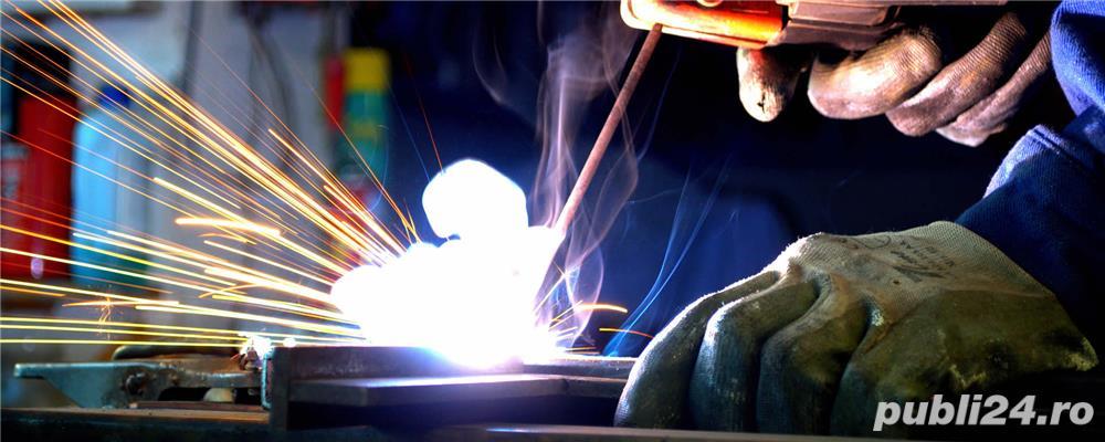Societate comerciala angajeaza instalatori, sudori electric si autogen
