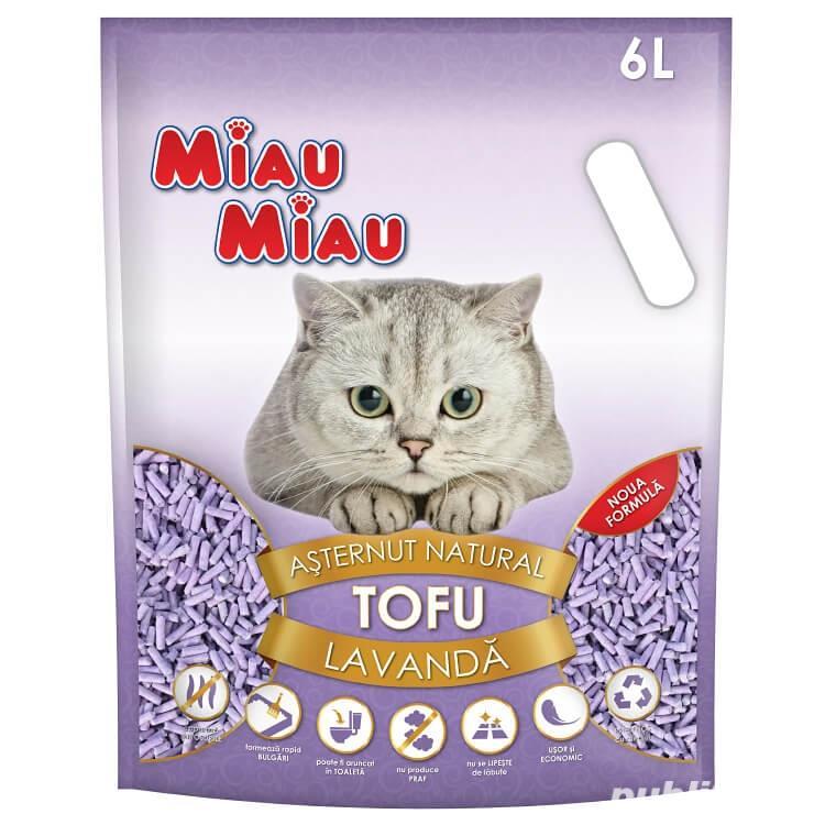 Miau Miau Tofu Lavanda 6 L Produs nou !