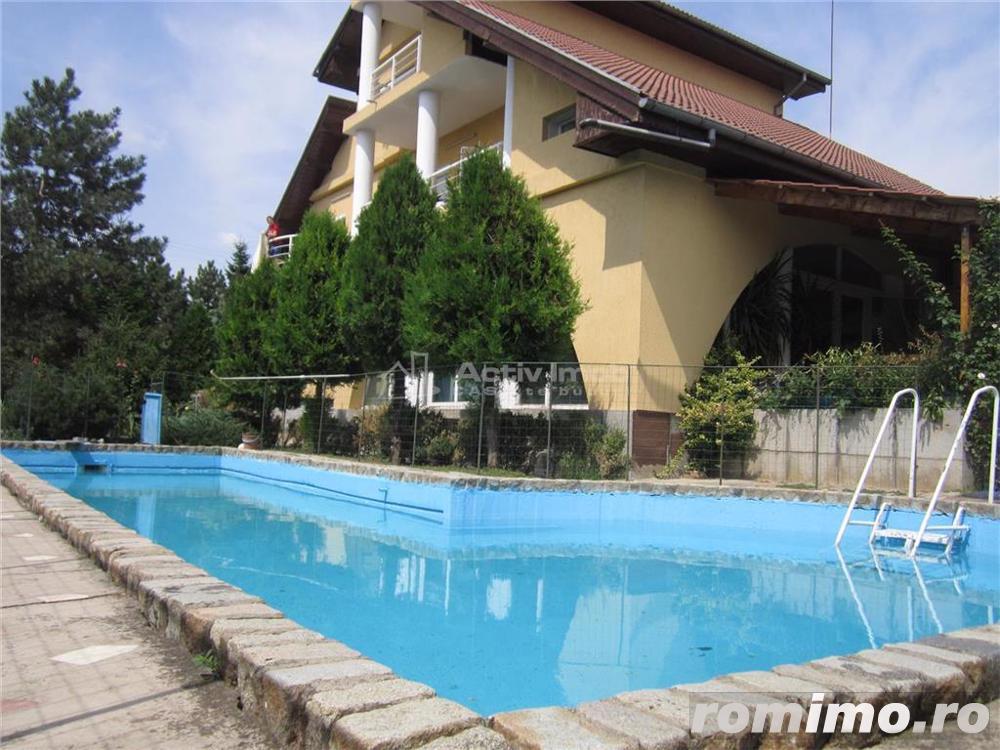 Vila 15 camere, 1330mp curte, piscina,ideal pt. afacere, Rosu-Chiajna