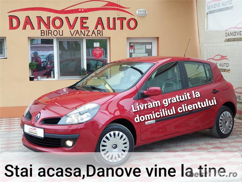 Renault Clio,LIVRAM GRATUIT,GARANTIE 3 LUNI,RATE FIXE,Motor 1200 Cmc75 cp,2008.
