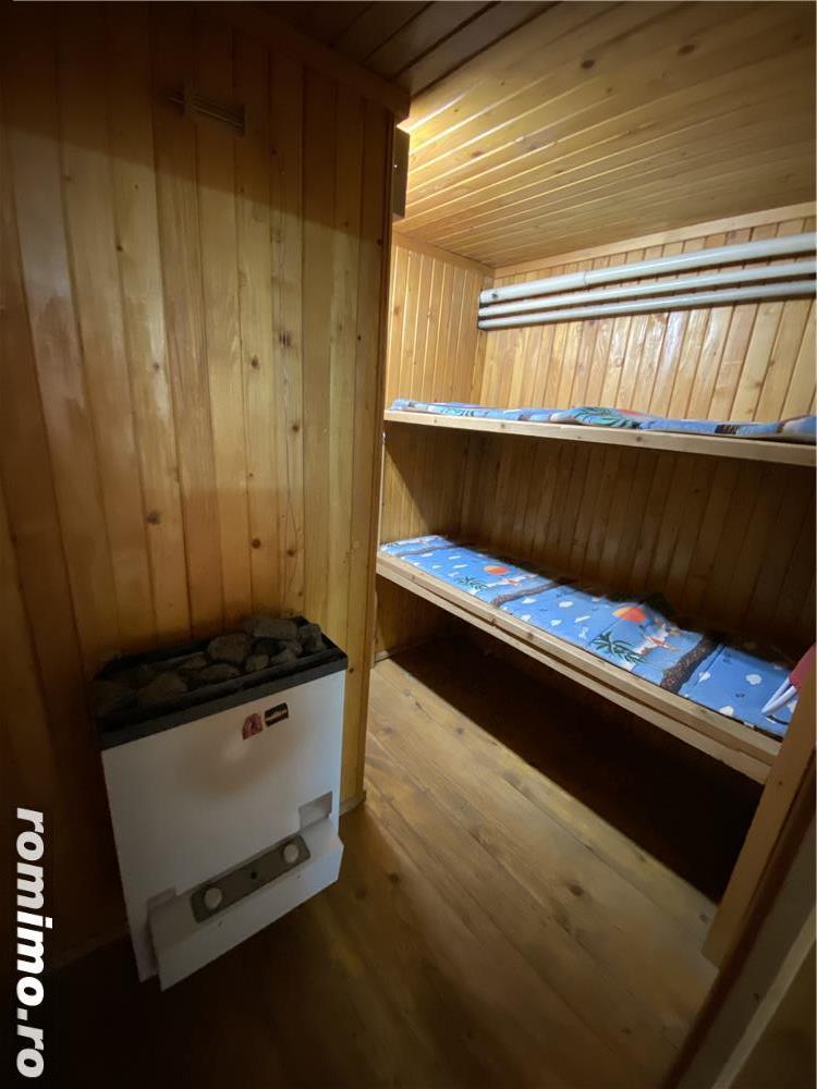 Casa Parter + Etaj cu Sauna,Locuit/ Birou  Sagului- Brancoveanu