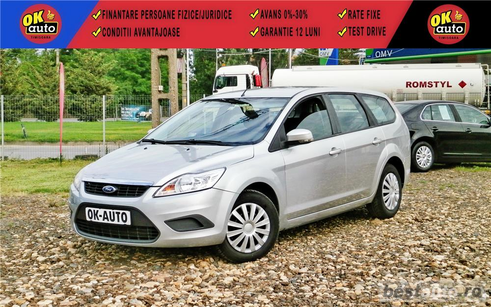 FORD FOCUS Facelift - 2009 - 1.6 diesel - 110 c.p. - vanzare in RATE FIXE cu avans 0%.