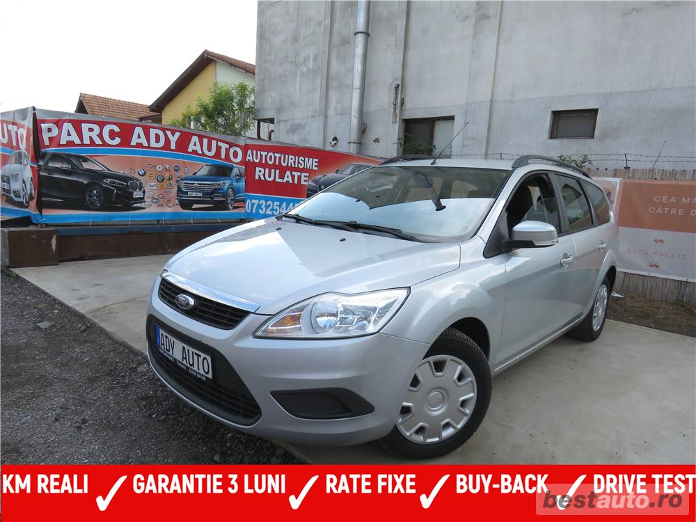 FORD FOCUS 2 / 1,6 D , EURO 4 ,CASH / RATE FIXE SI EGALE / LIVRARE GRATUITA  / GARANTIE / BUY-BACK