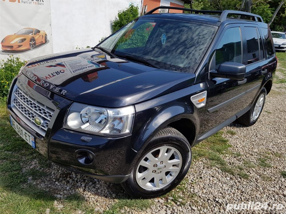 LAND ROVER Freelamder II TD4 SE 2.2diesel 160cp euro 4 gps 4x4 rate Parc auto