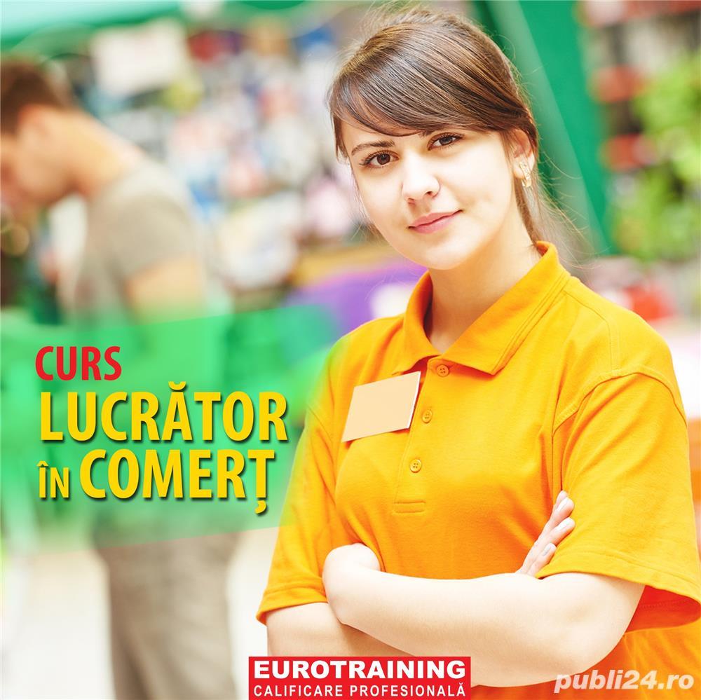 Curs Calificare Profesională - Lucrător în Comerț