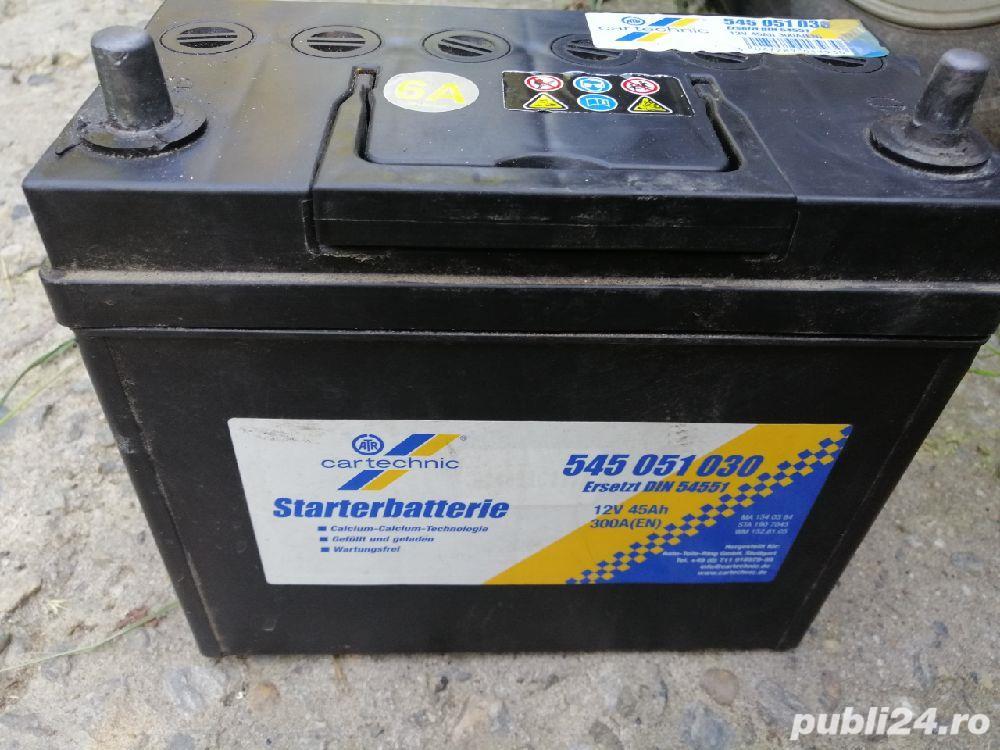 Acumulator Cartechnic 12V/45 A-borne subtiri