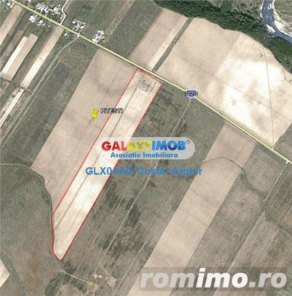 Vindem teren 10 ha in comuna Cateasca-Catanele
