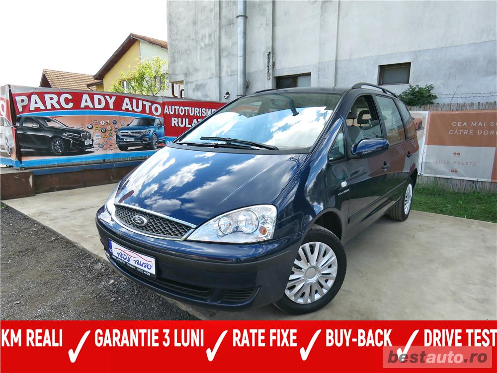 FORD GALAXY - MANUAL  - GARANTIE INCLUSA / RATE FIXE EGALE /  BUY-BACK / TEST DRIVE