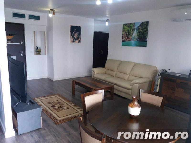 Barbu Vacarescu inchiriere apartament 2 camere complex rezidential