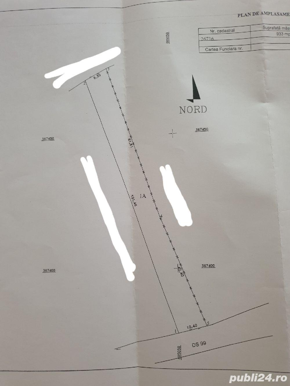 Teren intravilan - 933mp
