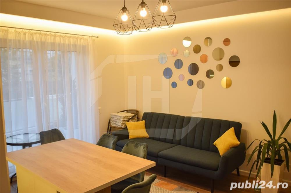 Apartament 3 camere, modern, prima inchiriere, parcare, terasa, zona strazii Mihai Romanu