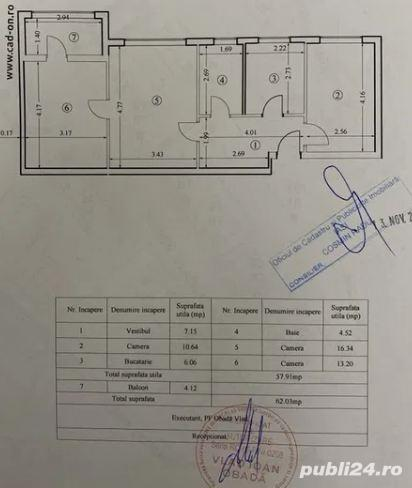 Apartament 3 camere - Tudor Vladimirescu