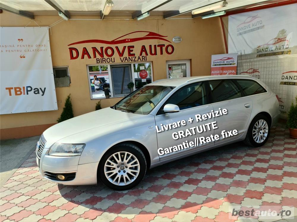 Audi A6 Revizie+Livrare GRATUITE, Garantie, RATE FIXE, Motor 2700 Tdi, 180 Cp, 2007