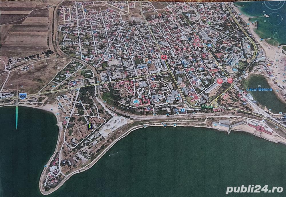 Teren de vanzare la mare in orasul Eforie