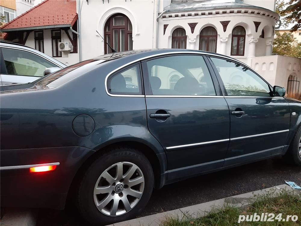 VW Passat limuzina USA B5 1,8T 170 HP + GPL
