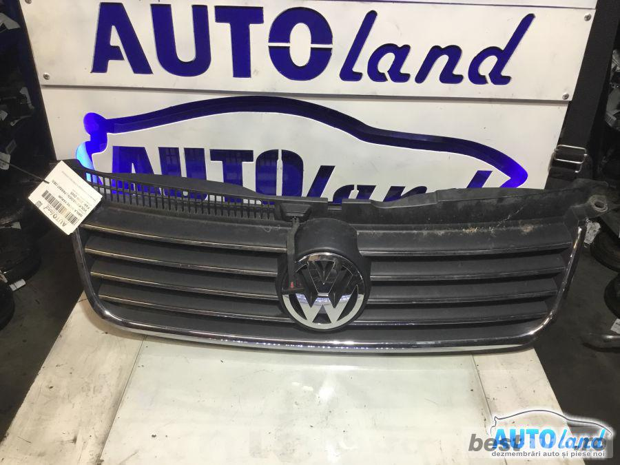 Grila Intre Faruri Volkswagen Passat 3B3 2000-2005 Cromat