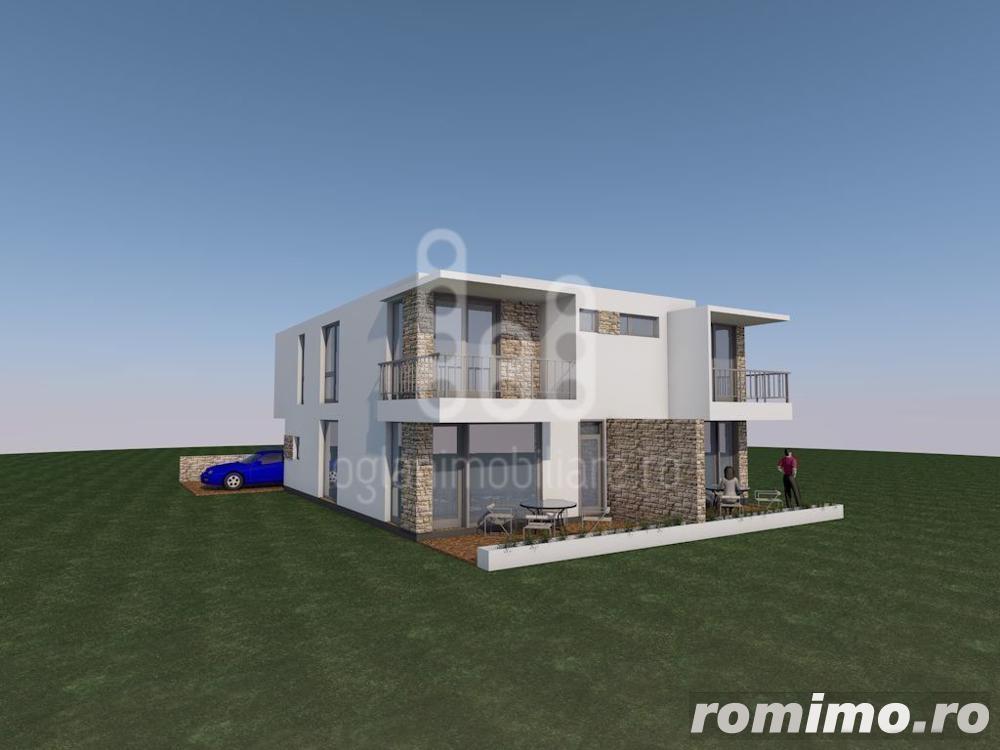 Casa tip duplux, Calea Cisnadiei