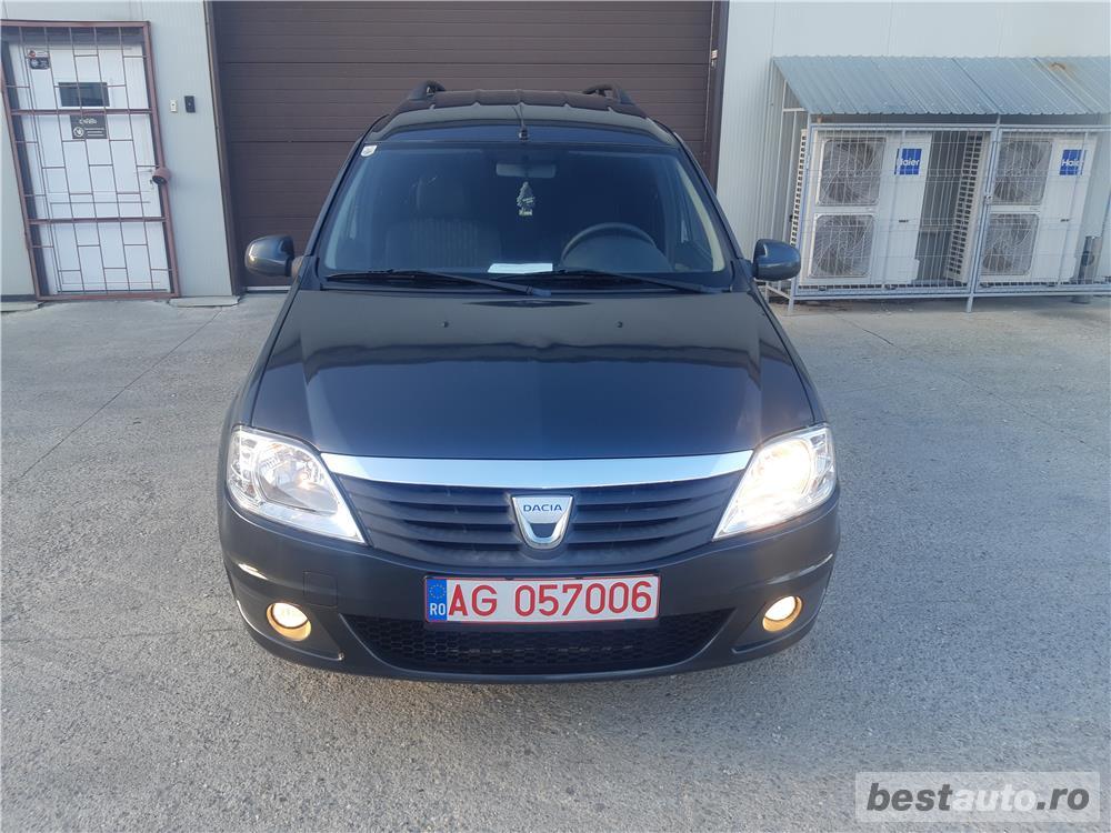Dacia Logan/MCV/an 2011/1.6 benzina MPI/black line/combi