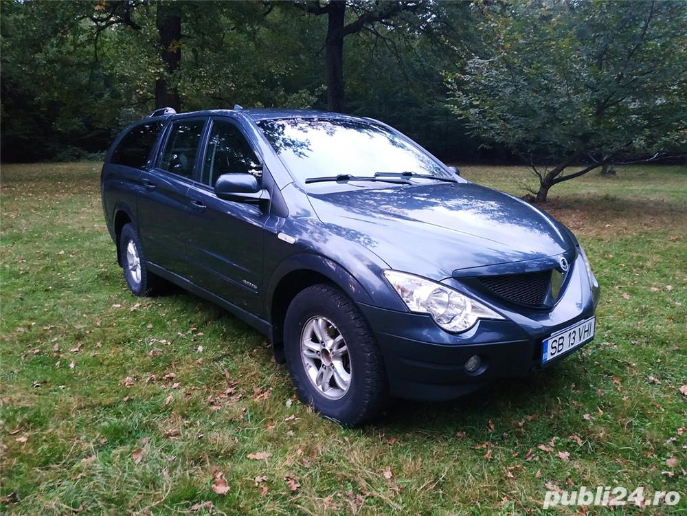 Ssangyong Actyon Sports an 2009.