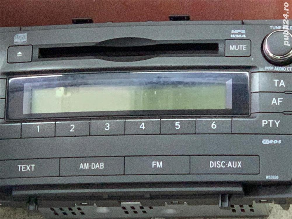 Radio cd MP3 WMA Toyota Avensis 2009-2013