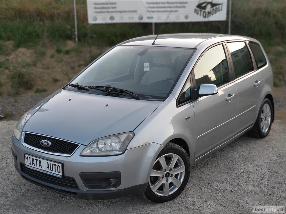 Ford Focus C-Max 1.6 Diesel TDCi, 109 CP, Ghia, Euro 4, HighLine, Rate Garantie Livrare